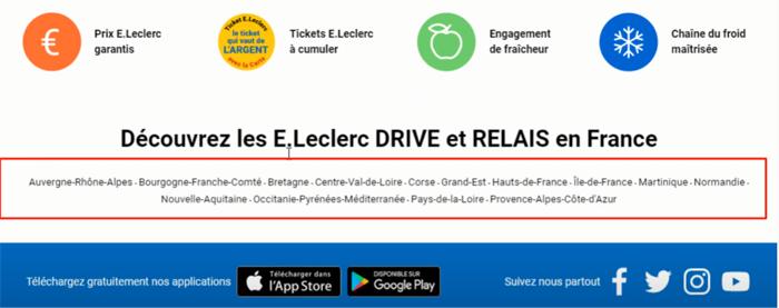 Aide Leclerc Drive