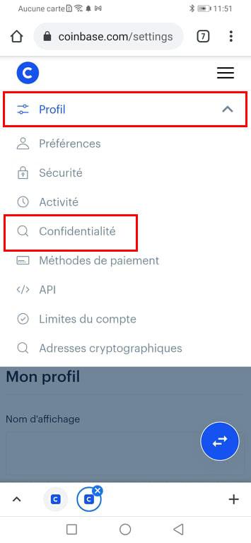 Débloquer un compte Coinbase restreint