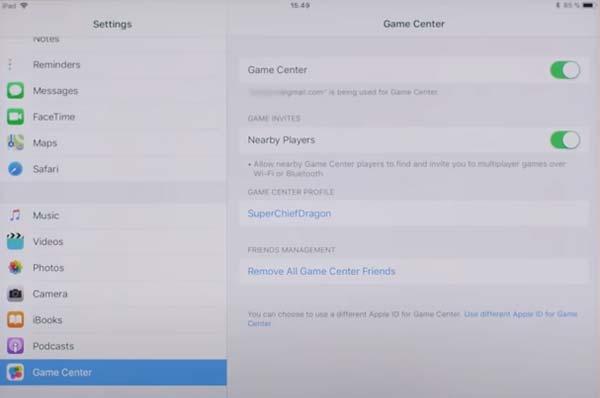 Game Center Hay Day sur iOS