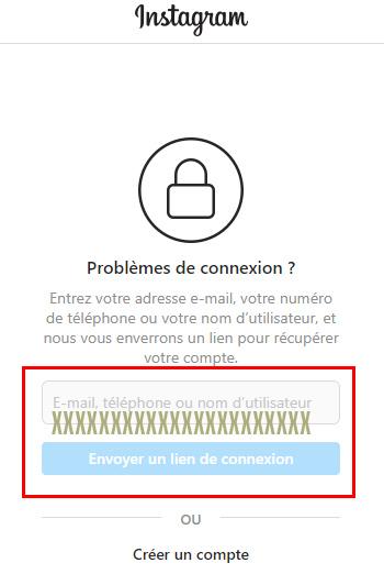 Récupérer un compte Instagram piraté ou perdu